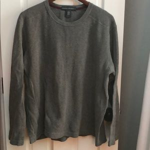 Mens Banana Republic cotton sweater sweatshirt